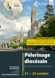 Pèlerinage à Lourdes du 21 au 24 Octobre : Inscriptions et besoin d'Hospitaliers !