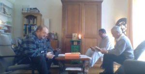 Prière du milieu du jour plus partage d'évangile plus nouvelles