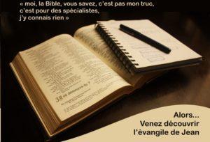 "Ouvrir la Bible#3 - "" Où demeures-tu? @ ZOOM"